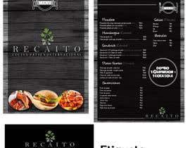 Nro 8 kilpailuun Necesito diseñar el Menú de mi restaurante. käyttäjältä anb1809