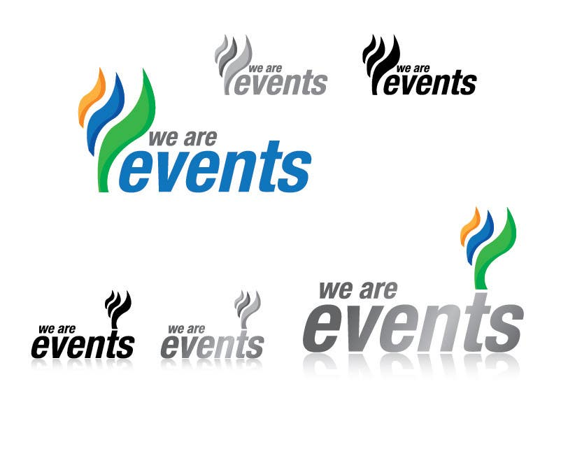 WE ARE EVENTS için 66 numaralı Yarışma Girdisi