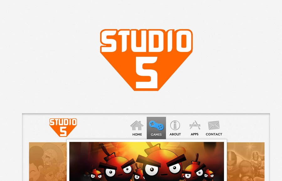Contest Entry #810 for Logo Design for Studio 5