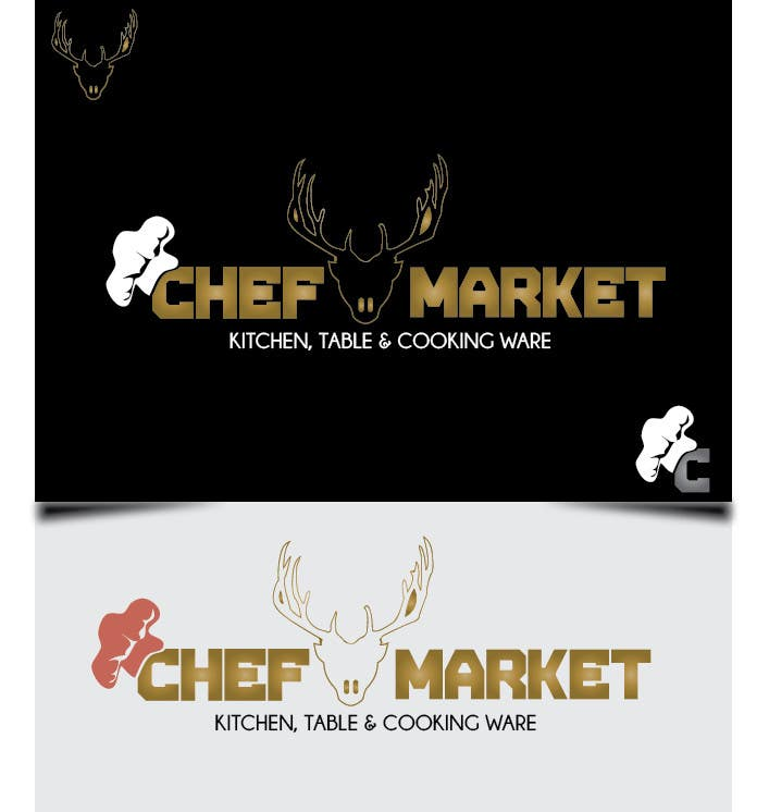 Bài tham dự cuộc thi #17 cho Design a logo for CHEFMARKET in Sweden