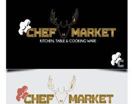 nº 17 pour Design a logo for CHEFMARKET in Sweden par utrejak