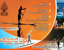 nº 11 pour Design a Flyer for a Stand Up Paddle School par DobleN2013