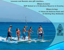 #25 for Design a Flyer for a Stand Up Paddle School af Craniun
