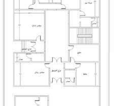 Nro 9 kilpailuun Design Concept for a two-storey House in Saudi Arabia (Floor plan, Elevations, 3D rendering) käyttäjältä mohyca