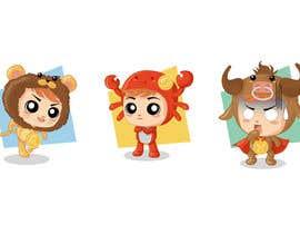 jona6256 tarafından Design Zodiac Mascots için no 5
