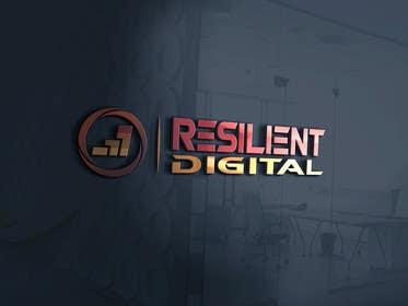desingtac tarafından Refreshed logo design for resilient digital için no 17