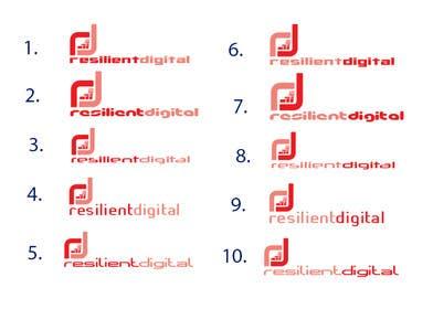 desingtac tarafından Refreshed logo design for resilient digital için no 30