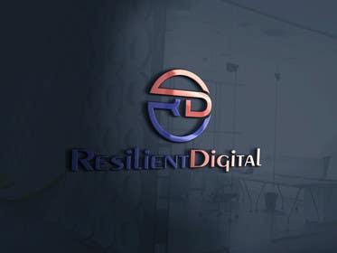 desingtac tarafından Refreshed logo design for resilient digital için no 39