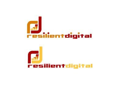 desingtac tarafından Refreshed logo design for resilient digital için no 43