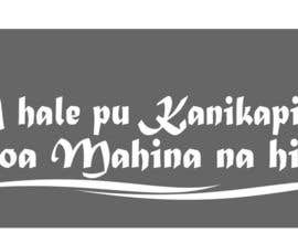 nº 7 pour I need some Graphic Design for a Hawaiian Style Automobile Window Decal par robertmorgan46