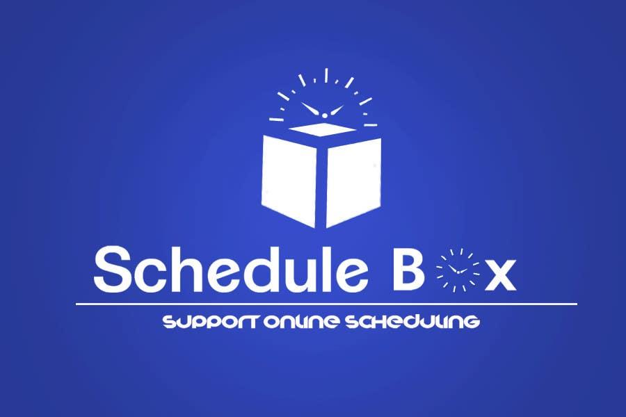 Конкурсная заявка №156 для Graphic Design for ScheduleBox