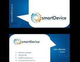 #24 para Design some Business Cards for smartDevice por mogharitesh