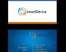 #25 para Design some Business Cards for smartDevice por mogharitesh