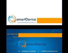 #32 para Design some Business Cards for smartDevice por mogharitesh