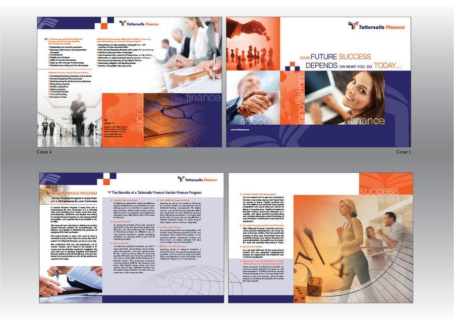 Kilpailutyö #6 kilpailussa Brochure Design for Finance HQ