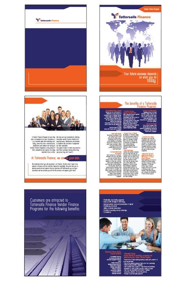 Inscrição nº                                         81                                      do Concurso para                                         Brochure Design for Finance HQ