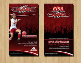RERTHUSI tarafından (6) Business Card Designs needed for Youth Soccer Team için no 17