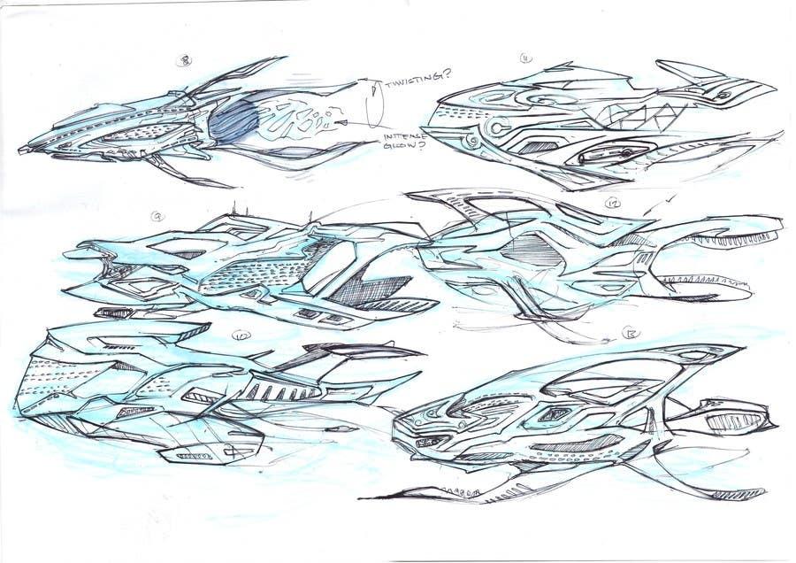 Bài tham dự cuộc thi #6 cho Illustrate Some Spaceships!