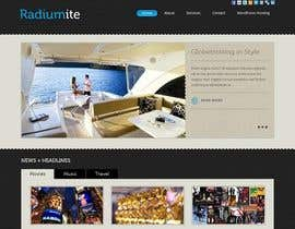 #8 untuk Convert a Wordpress template to a website for an awesome outdoor brand oleh niladrilx