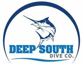 DarDerDor16 tarafından Design a Logo incl. a fish - Deep South Dive Co. için no 41