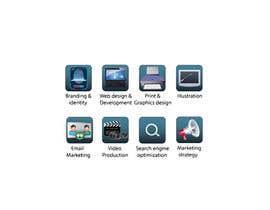Nro 12 kilpailuun Design Business Service Icons käyttäjältä miskopaun87