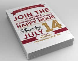 MooN5729 tarafından Design a Happy Hour Flyer için no 14