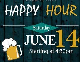 BettyCH tarafından Design a Happy Hour Flyer için no 10