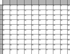 #1 untuk Simple Superbowl 100 Squares/Grid as SVG in Adobe Illustrator. oleh craighumb