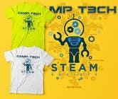 Graphic Design Kilpailutyö #9 kilpailuun Technology Camp t-shirt design set
