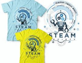 Nro 39 kilpailuun Technology Camp t-shirt design set käyttäjältä Tony2Drawing
