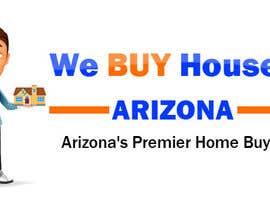 Nro 7 kilpailuun We BUY Houses in Arizona LOGO käyttäjältä Yusuf3007