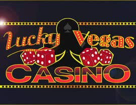 "#93 for ""Lucky Vegas""  Logo for online casino af MegaBox2"
