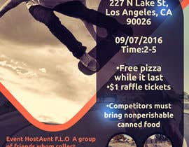 Nro 10 kilpailuun Need A flyer Done For  Event käyttäjältä motoko09