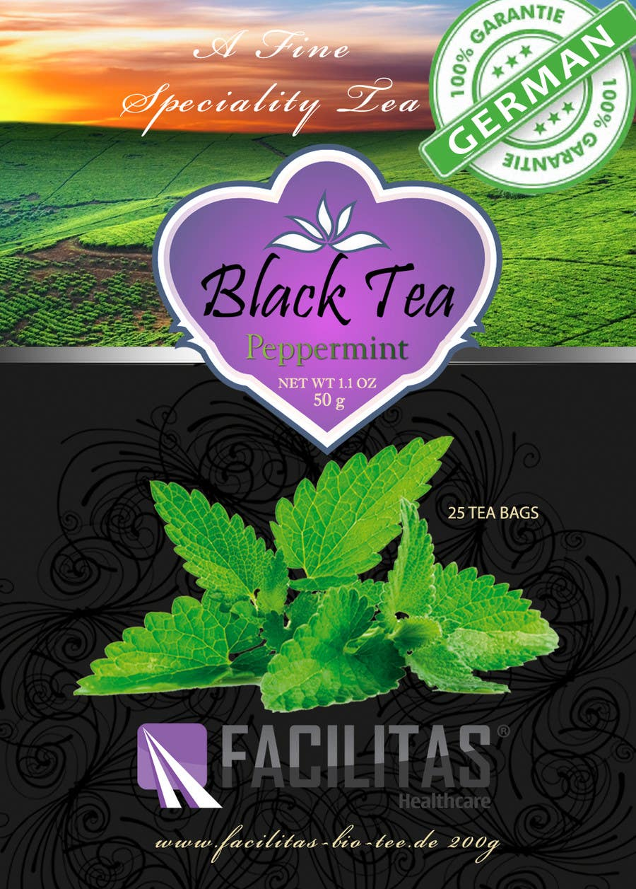 Contest Entry #23 for Tea Label Design