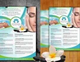 """vinu9886 tarafından Design a """"day spa"""" flyer için no 33"""