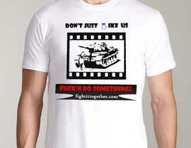 #15 untuk Design a cool T-Shirt with Tank Men and a slogan underneath oleh laurentiuc94