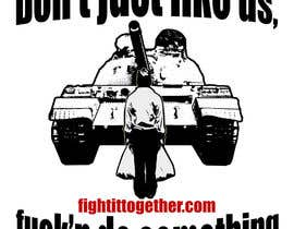 #13 for Design a cool T-Shirt with Tank Men and a slogan underneath by scott0082