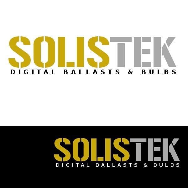 Konkurrenceindlæg #8 for Logo Design for Solis Tek