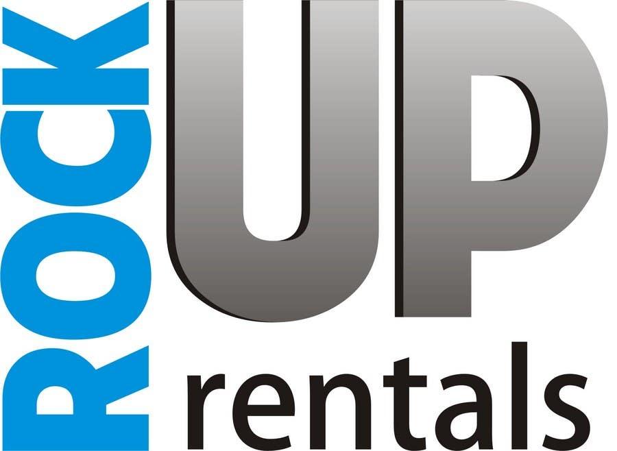 Конкурсная заявка №129 для Logo Design for RockUp Rentals.com.au