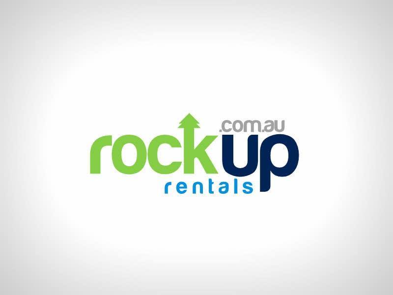 Конкурсная заявка №358 для Logo Design for RockUp Rentals.com.au