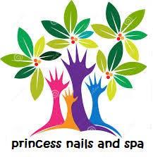 Kilpailutyö #37 kilpailussa Design a Logo for Princess Nails and Spa - repost