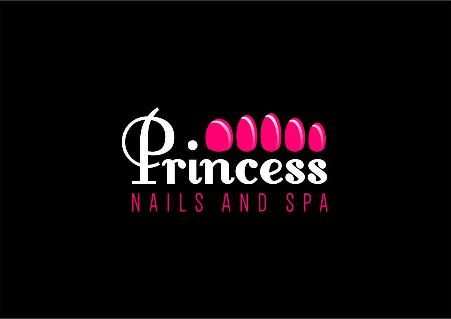 Contest Entry #17 for Design a Logo for Princess Nails and Spa - repost