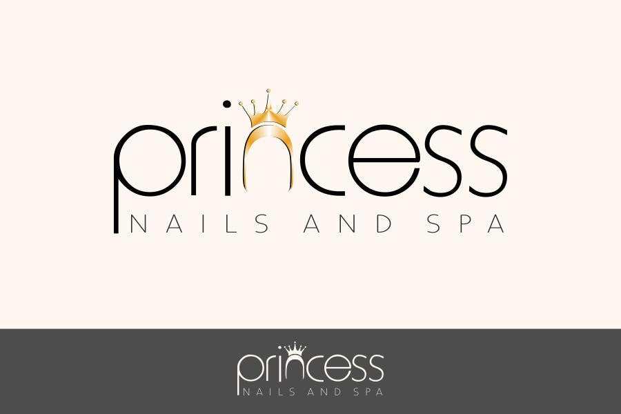Contest Entry #21 for Design a Logo for Princess Nails and Spa - repost