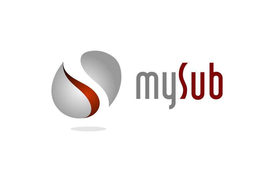 Participación en el concurso Nro.49 para Logo Design for mySub
