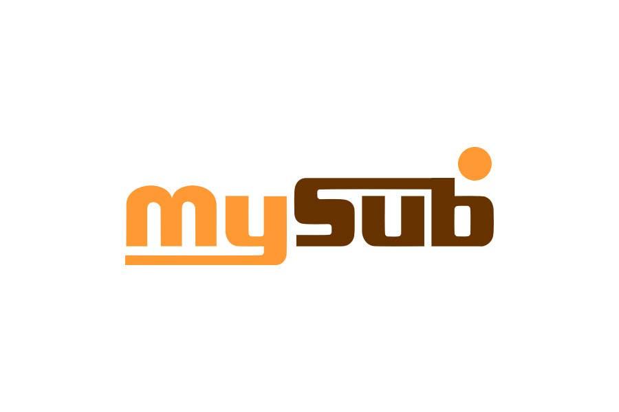 Kilpailutyö #                                        48                                      kilpailussa                                         Logo Design for mySub