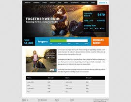 nº 12 pour Design a Website template for fundraising page par tania06