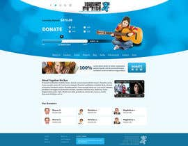nº 14 pour Design a Website template for fundraising page par tania06