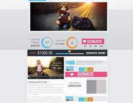 nº 3 pour Design a Website template for fundraising page par mediatronics