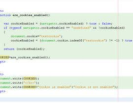 moizpalitan tarafından Script to Check If Browser Accept 3rd Party Cookie için no 14