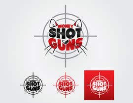 #20 for MoneyShotGuns Logo af GeorgeOrf